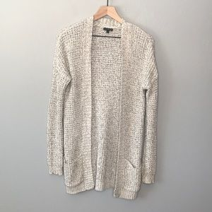Express gray cardigan sweater size small